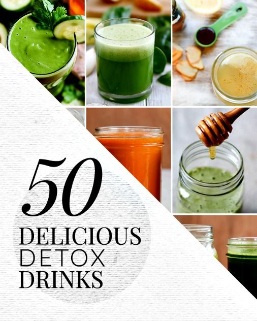 16 Insanely Healthy Recipes That Are Delicious: 50 Delicious Detox Drink Recipes