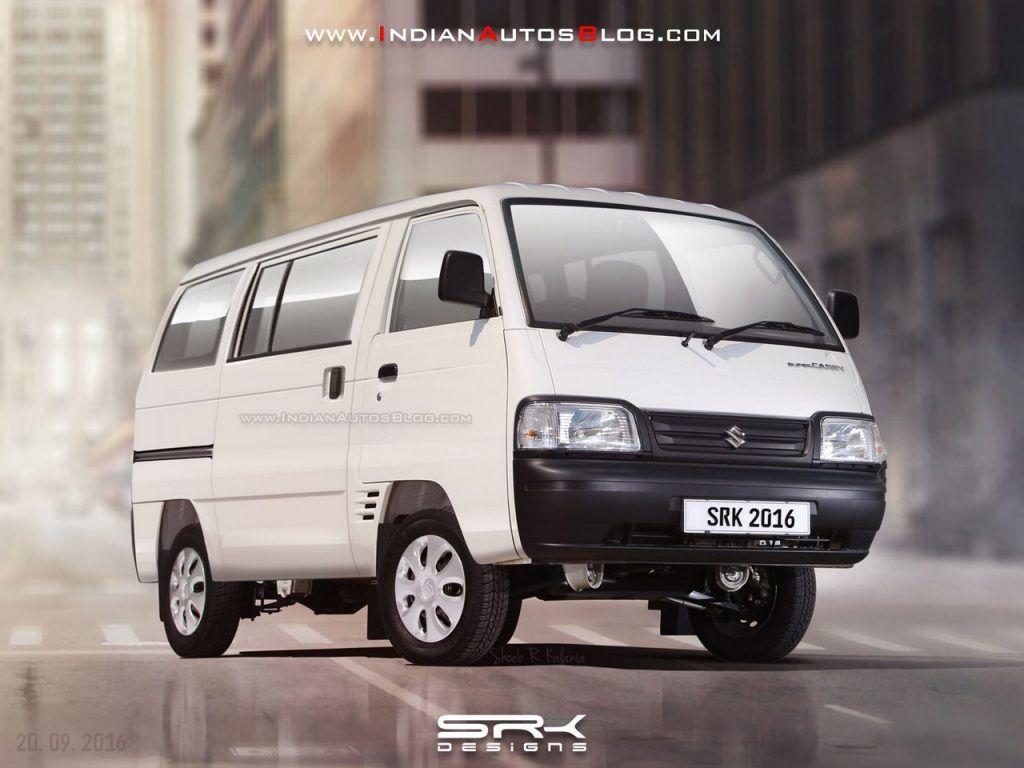 Maruti Suzuki Super Carry Van Variant Rendering In 2020 Suzuki Van Passenger Vehicle
