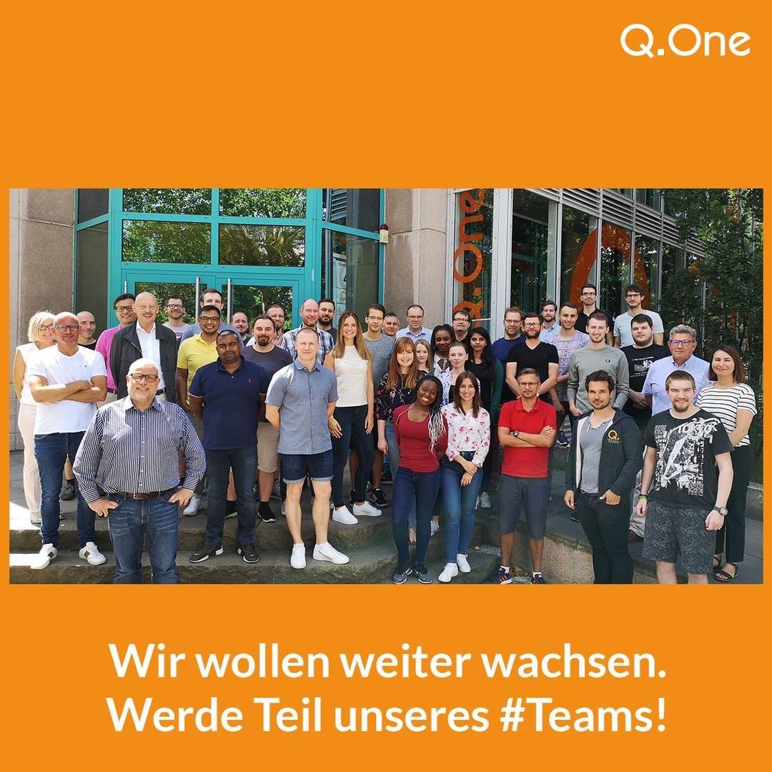 Das Team der qonecom will noch weiter wachsen. Wir suchen ...
