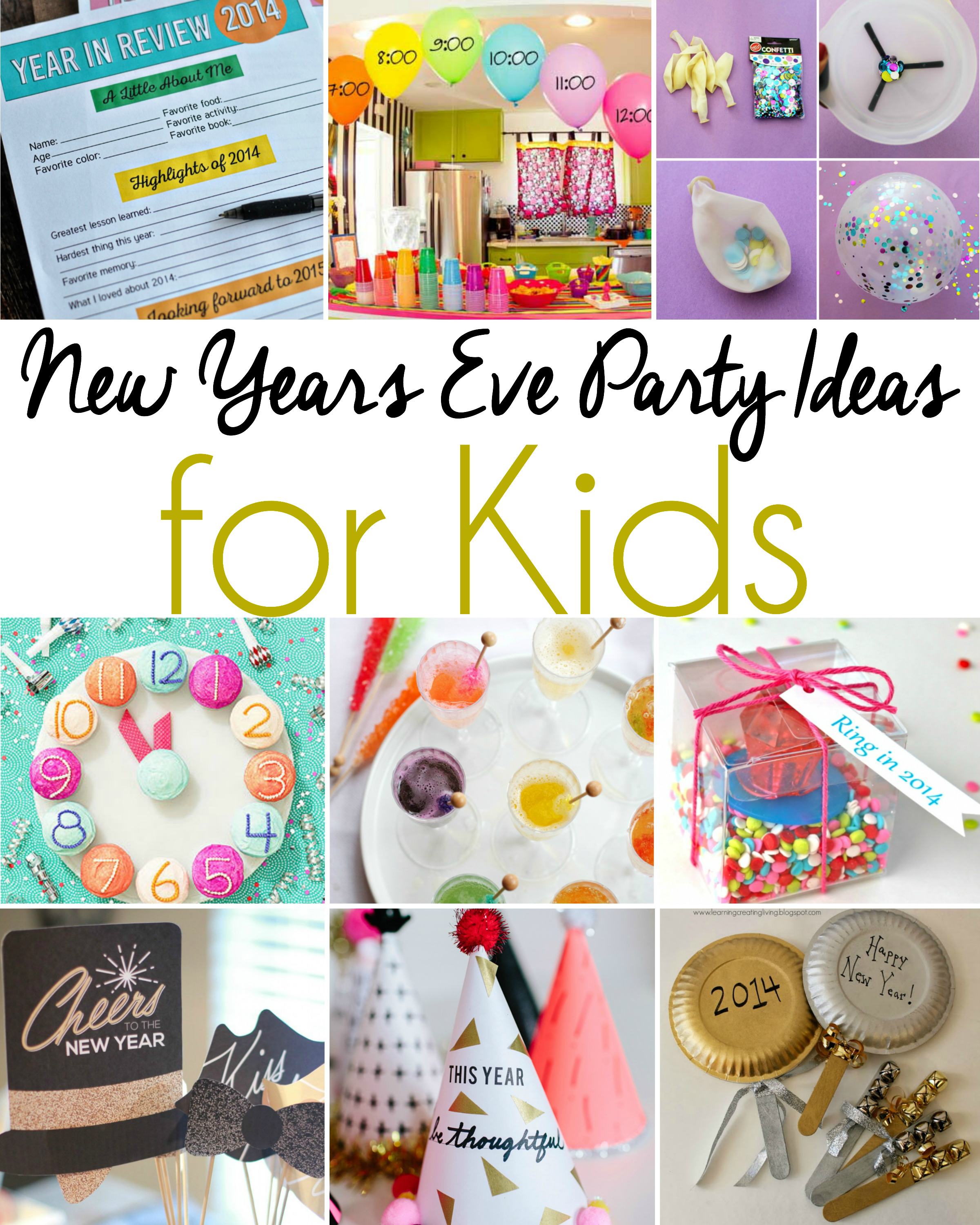 New Years Eve Party Idea For Kids Kids New Years Eve New Year S Eve Activities New Years Eve Birthday Party