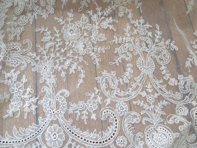 Detail from lace panel