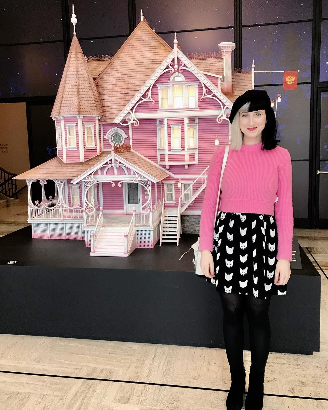 Jason Took Me Too See My Dream House Aka Check Out The Awesome Laika Studios Exhibit At The Art Museum Coraline Aesthetic Coraline Jones Studio