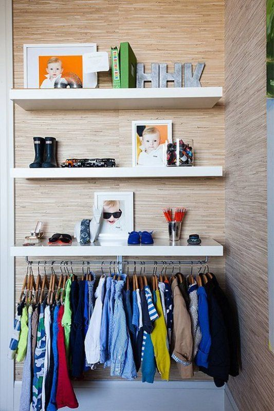 23 Brilliant Storage Solutions For Kids Rooms Without A Closet 23