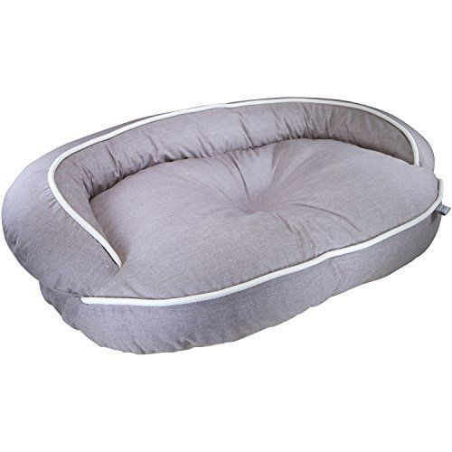 Kathy Ireland Loved Ones Constant Comfort Pet Bed Therapeutic Foam Bolster Bed Brown Large Read More Reviews Of The Produc Bolster Dog Bed Pet Bed Dog Bed