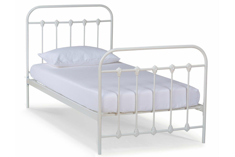 Isaac Bed Frame Single Single Bed Frame Single Bed Bedroom Furniture Beds