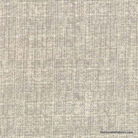 Fabric... Mod Century Tonal Tweed Texture in Grey by Moda Fabrics