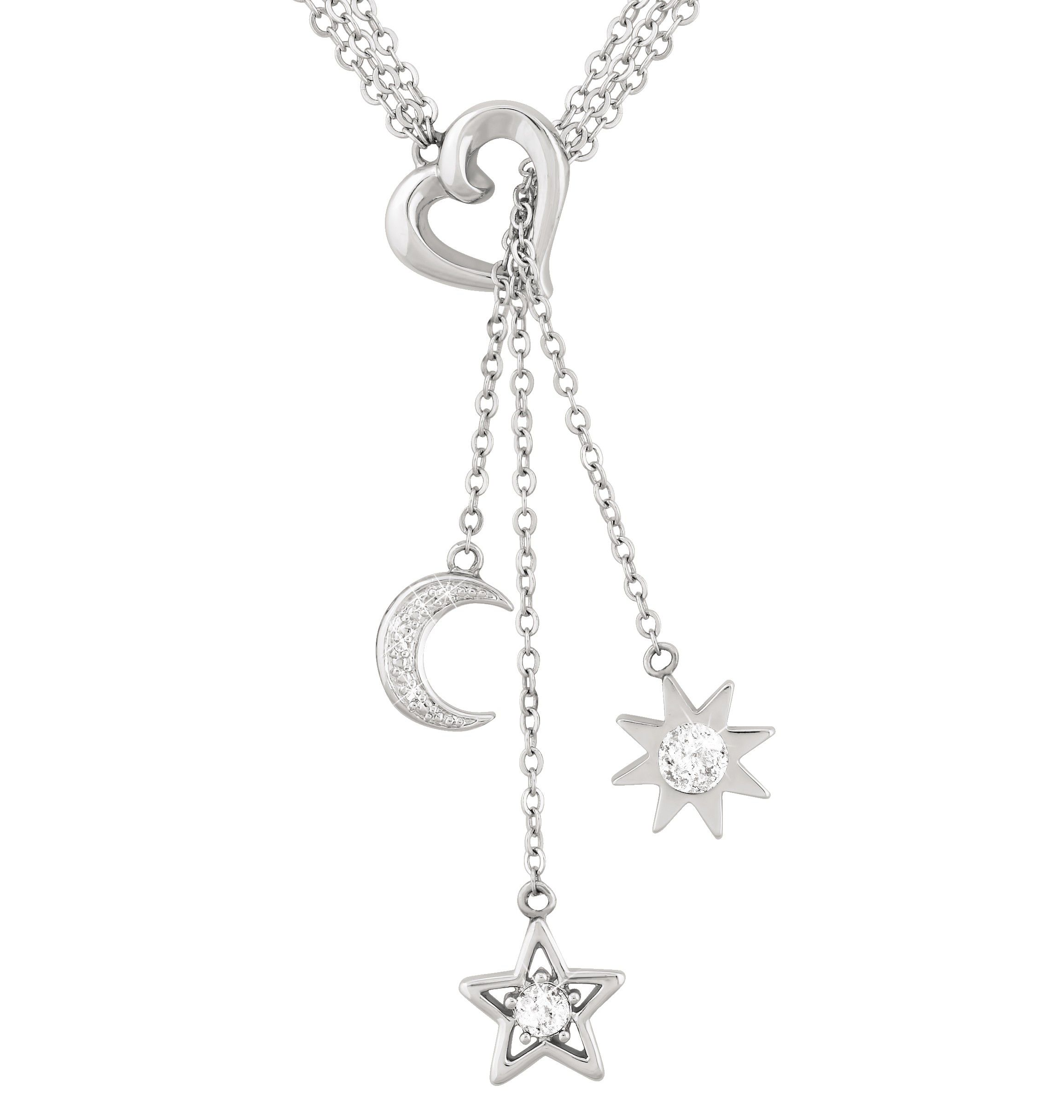 charm star diamond sterling stars silver pin style christmas pave my