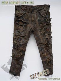 Post Apocalyptic trousers