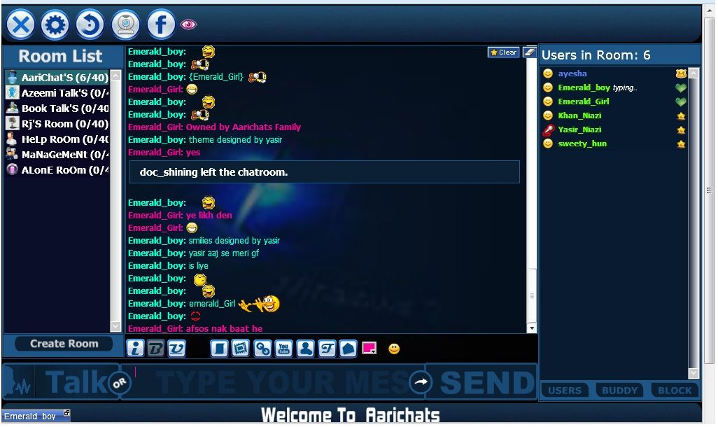 Chat room 40