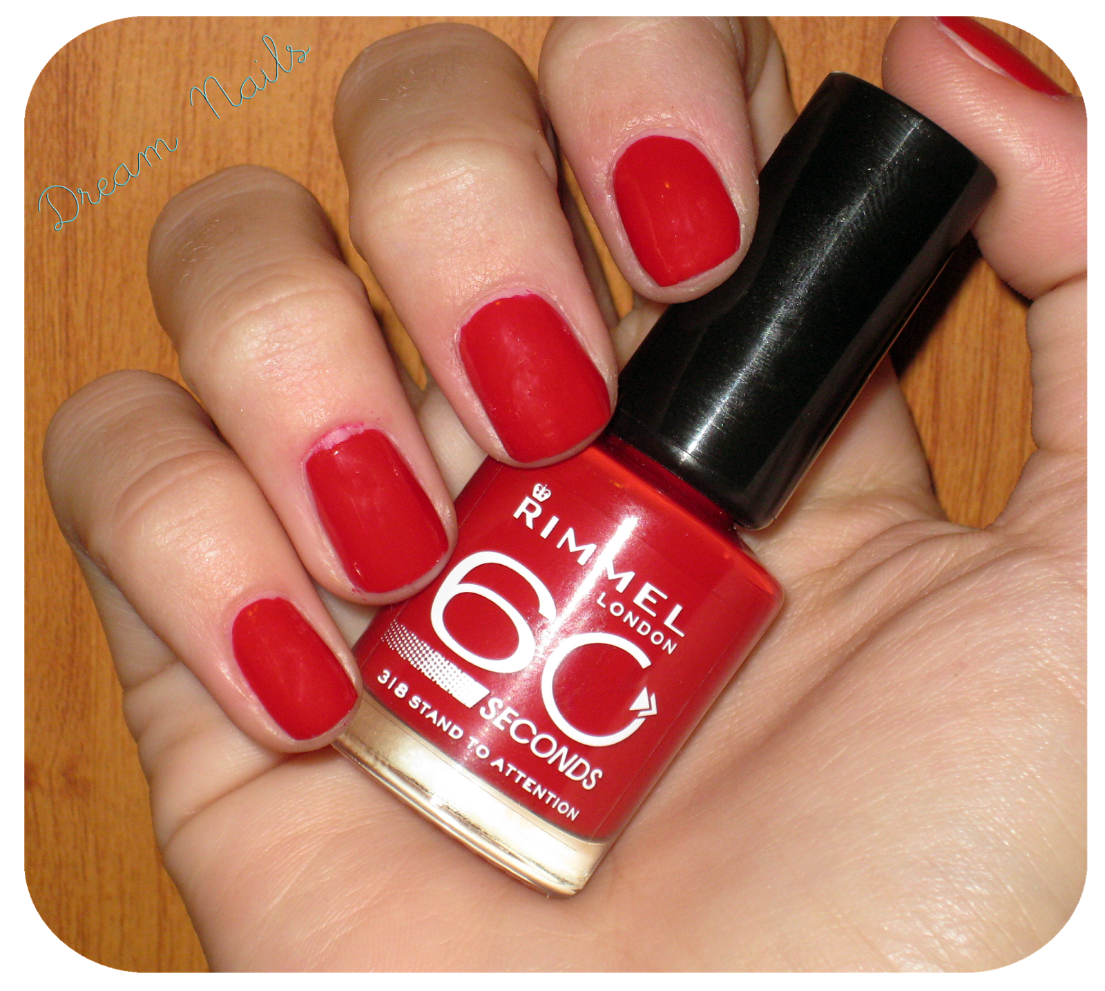 Red is Red l Review esmaltes Rimel