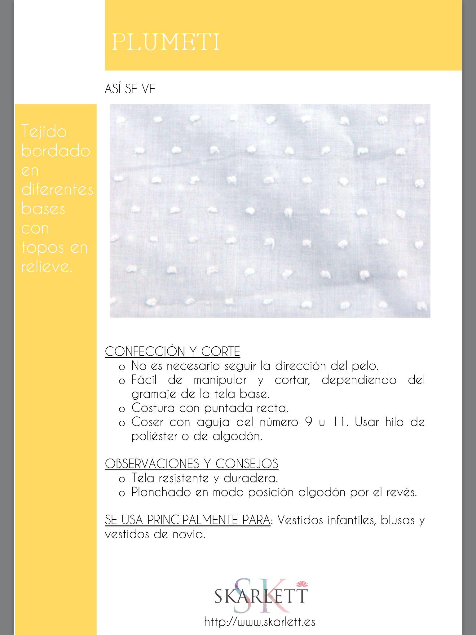 El dossier de las telas Skarlett | Patrones,diseños y Costuras ...