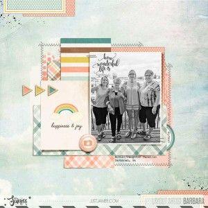 Mother-Daughter Trip Savannah - How Wonderful Life Is Just Jaimee: Oh Baby Digital Kit and Journal Cards (Storyteller May 2017 Add On)