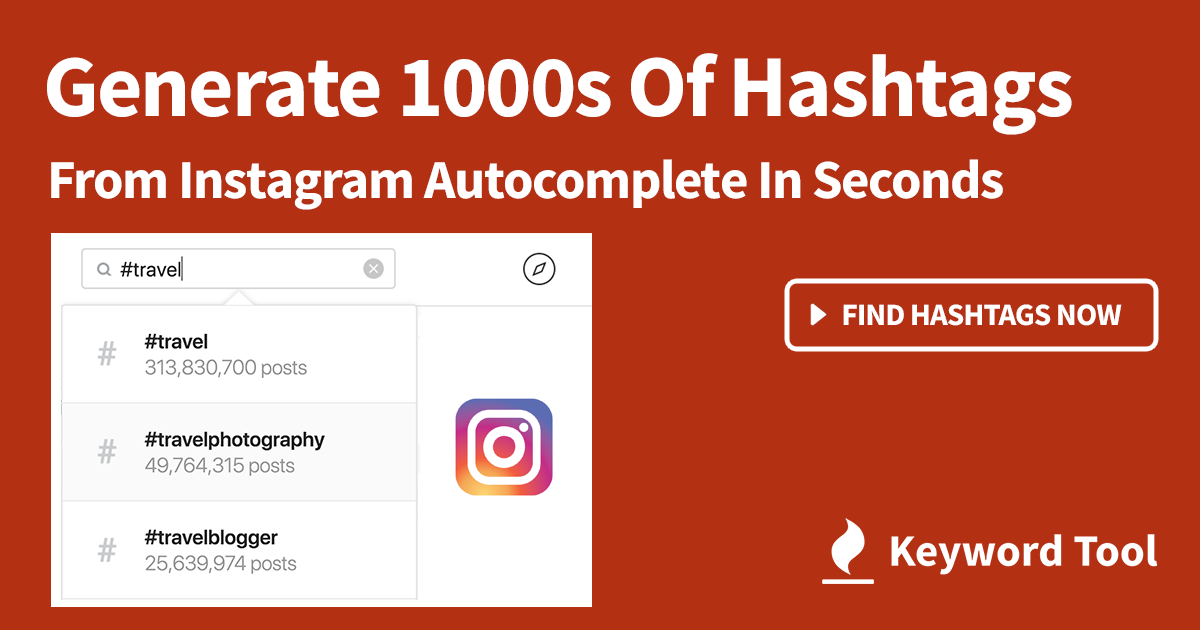 Best 1 Free Instagram Hashtag Keyword Tool Generates Popular Tags Using Instagram Search Get 1 0 Instagram Hashtags Instagram Marketing Tips Instagram Ads