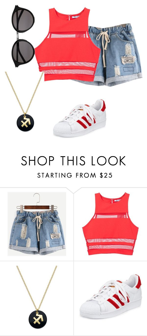 """Untitled #1949"" by samanthay7 ❤ liked on Polyvore featuring T By Alexander Wang, Giani Bernini, adidas and Yves Saint Laurent"