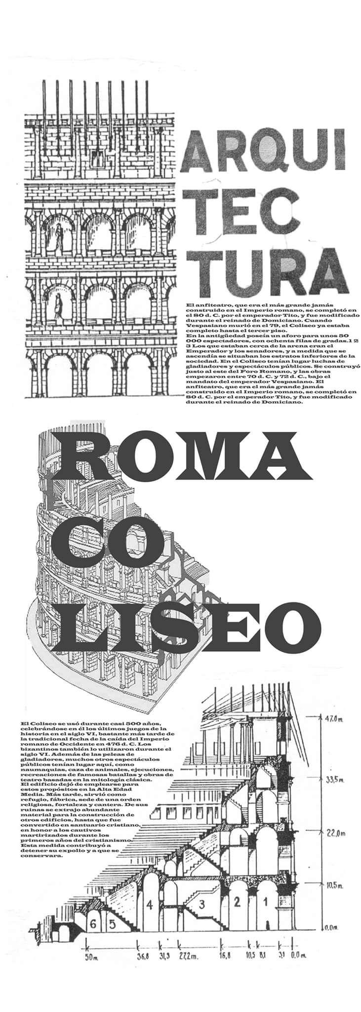 #roma #coliseo #tipografia o por lo menos un intento