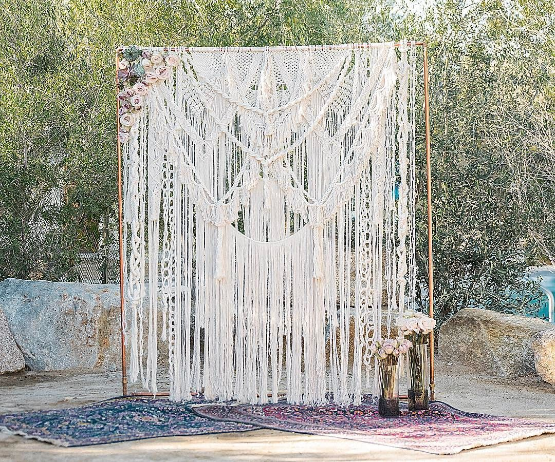 Outdoor Wedding Ceremony Yorkshire: Pin By Bret Burton On Macrame Ideas