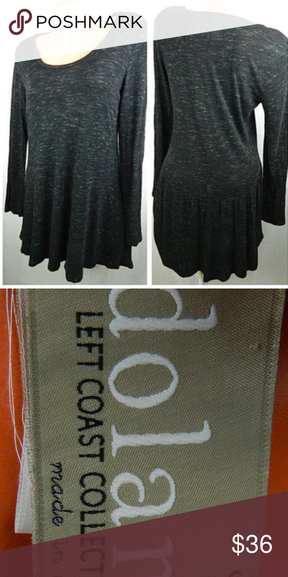 a5e0d1e01662b Anthropologie DOLAN LEFT COAST Small TUNIC Gray In gentle pre-owned  condition Anthropologie Tops Tunics