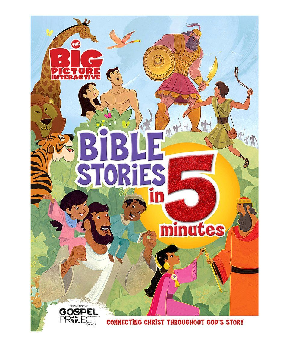 Take a look at this The Big Picture Interactive Bible