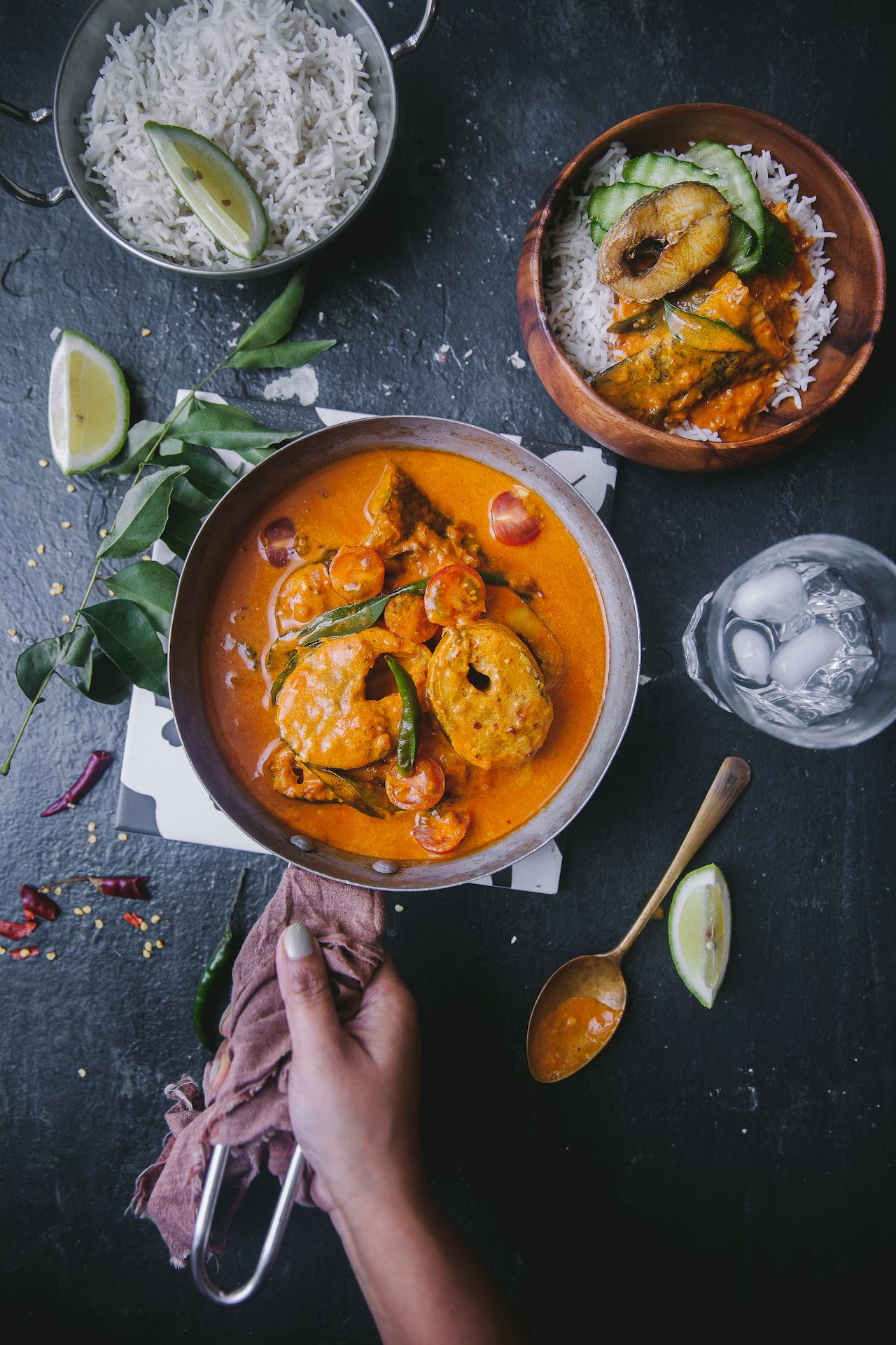 Kerala Style Fish Curry - ONE POT MEAL | Recipe | Fish