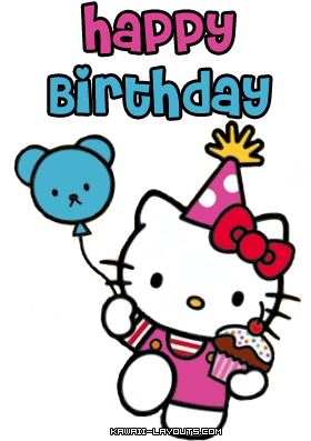 Sanrio Graphics And Comments Clipart Best Hello Kitty Hello Kitty Birthday Hello Kitty Themes