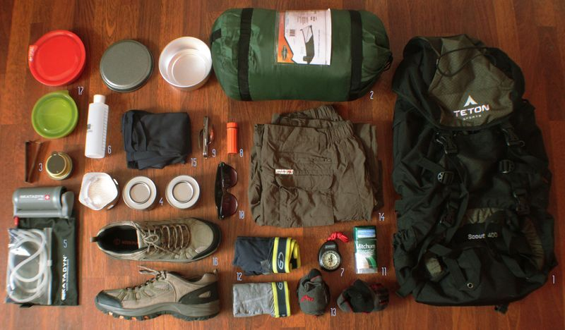 gear list section hike hiking gear hiking trails hiking backpack outdoor gear