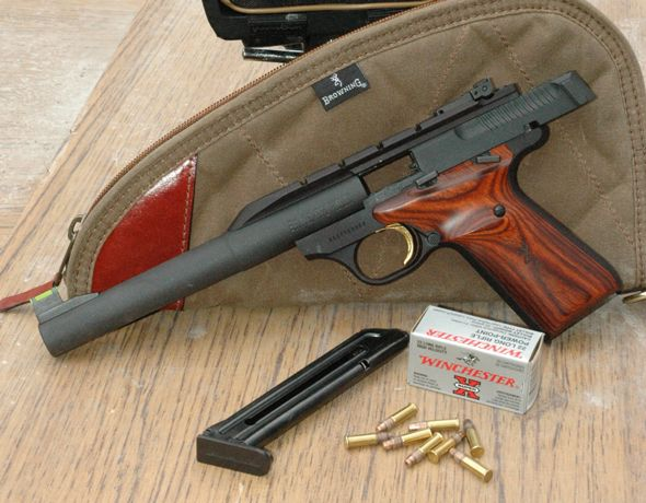 Gun Review: Browning Buck Mark  22 Rimfire | Guns | Guns, Hand guns