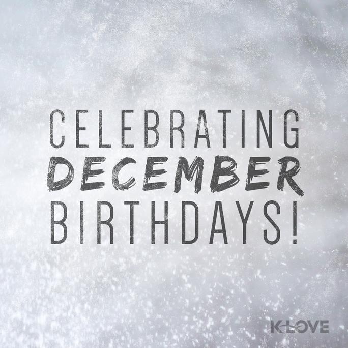 Pin On December Birthdays