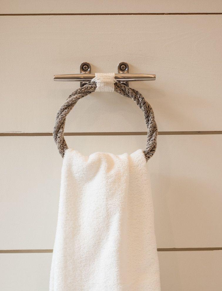 The 25 Best Beach Style Towel Rings Ideas On Pinterest Towel Rings Nautical Theme Bathroom
