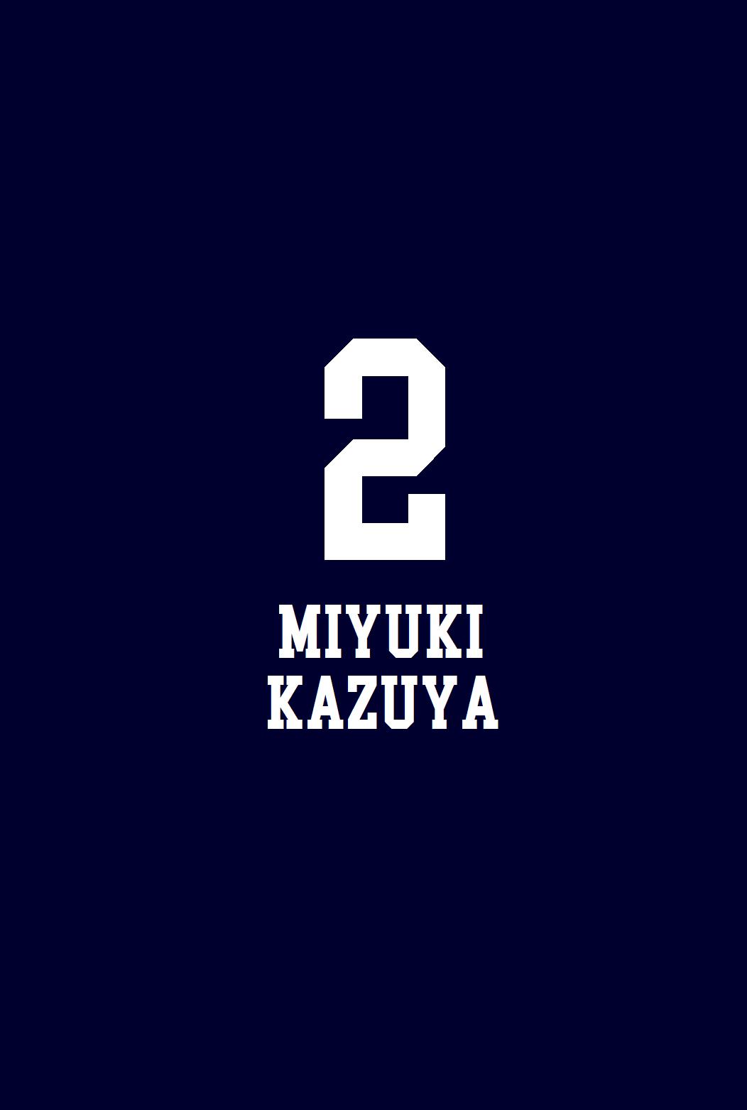 Miyuki Kazuya Phone Wallpaper Seni Anime Seni