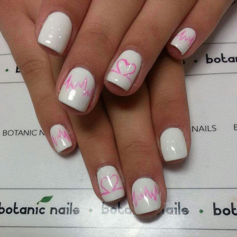 Hearts and heartlines nails just polish pinterest nail