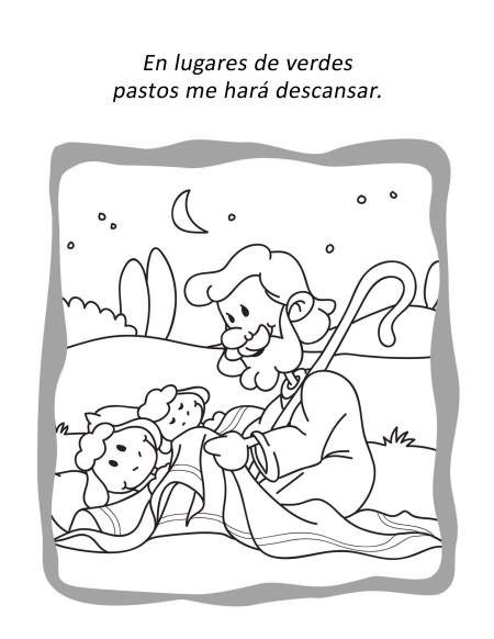 Salmo 23:2 | salmo 23 | Pinterest | Niños, Iglesia niños and Salmos ...