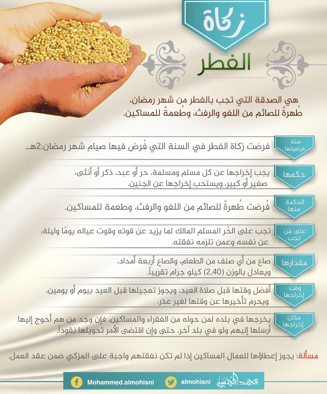 زكاة الفطرة Ramadan Islam My Love