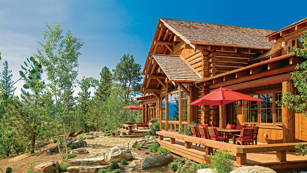 The Ultimate Log Home Wood Guide Log homes, House styles