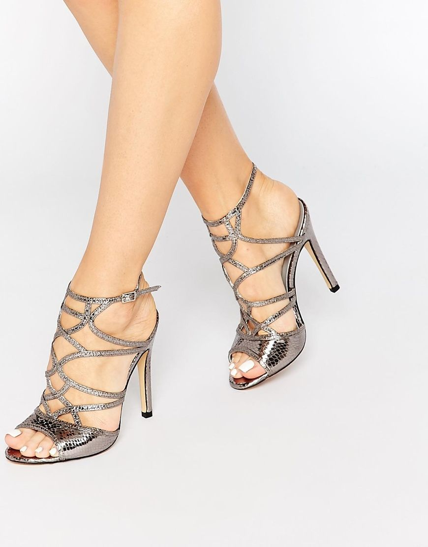 Image 1 of Truffle Collection Helen Cut Out Heeled Sandals