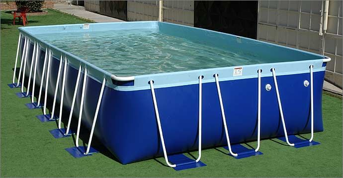High Quality Pool With A 15 Year Limited Warranty Portable Swimming Pools Swimming Pools Rectangular Pool