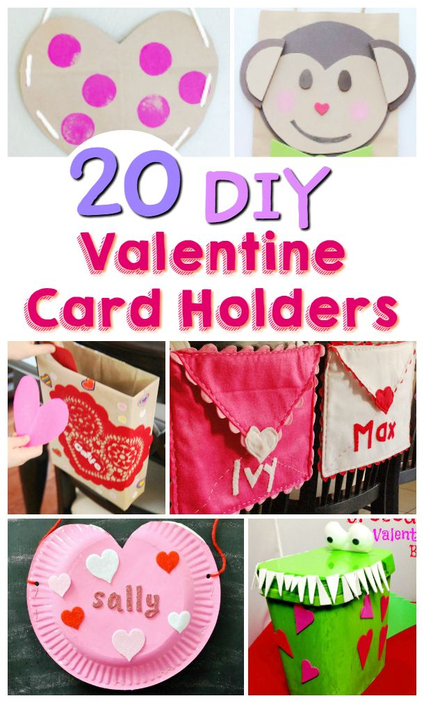 20 Diy Valentine Card Holders With Images Valentines Card