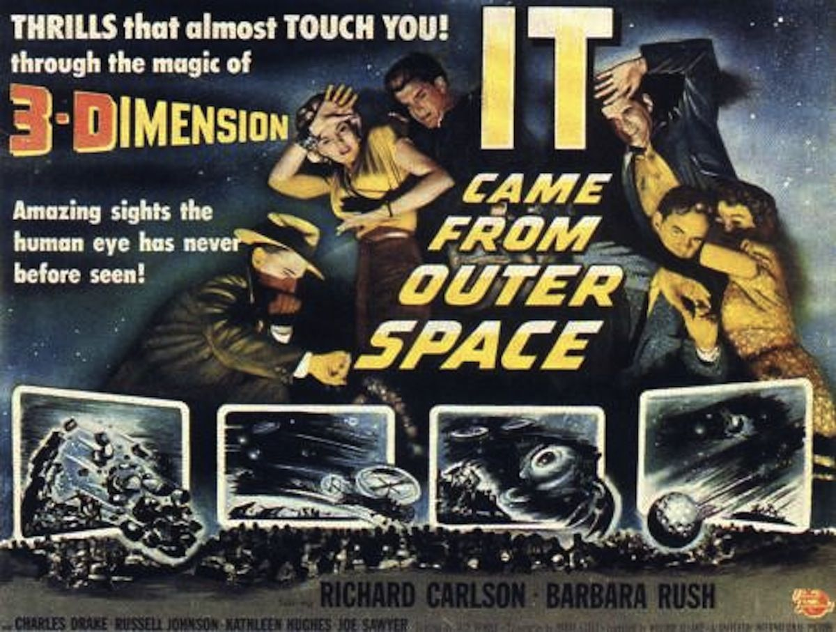 It came from outer space 3d film posters pinterest for The thing that came from outer space