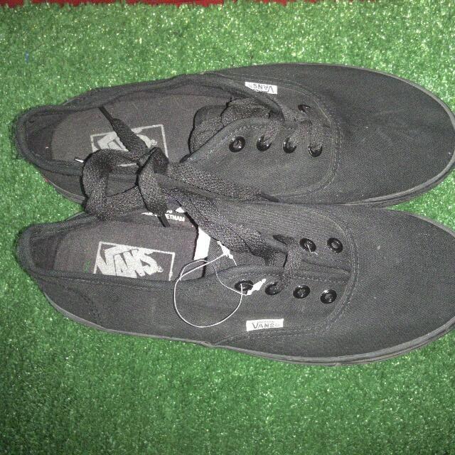 Vans Shoes Full Black | Vans, Vans shoes, Shoes