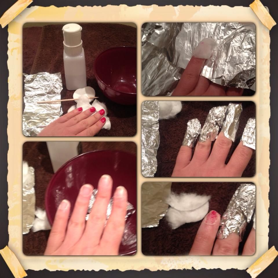 To Remove Shellac You Will Need 10 Pieces Of Tin Foil Acetone Nail Polish Remover Cotton Wool Remove Acrylic Nails Remove Shellac Polish Shellac Nail Art