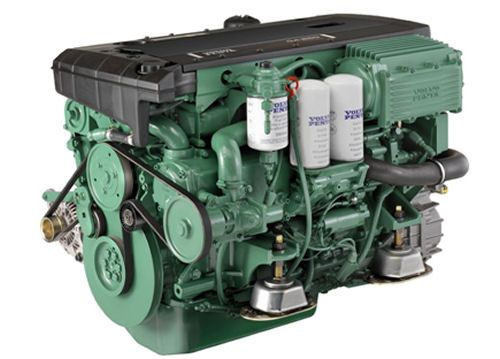 Volvo Penta D4 260-hp: The D4 was designed from the outset