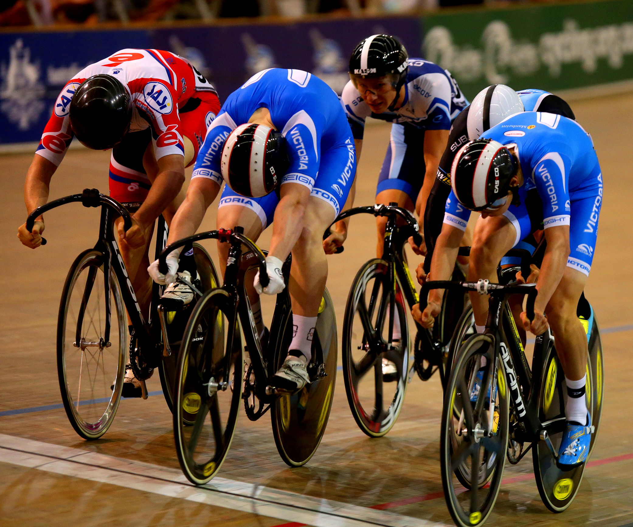 2015 Track National Championships Bont Cycling Shoes