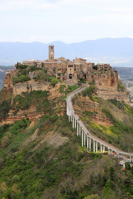 Civita Di Bagnoregio Italy Italia