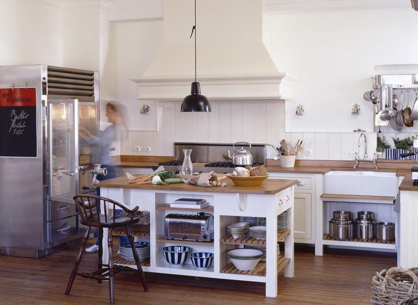 Landhausküchen Repräsentativ Individuelle Küche von Robinson  Cornish