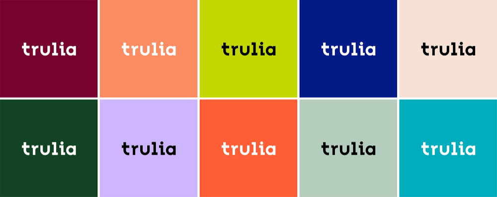 Brand New New Logo And Identity For Trulia By Design Studio Identity Design Graphic Design Pattern Identity