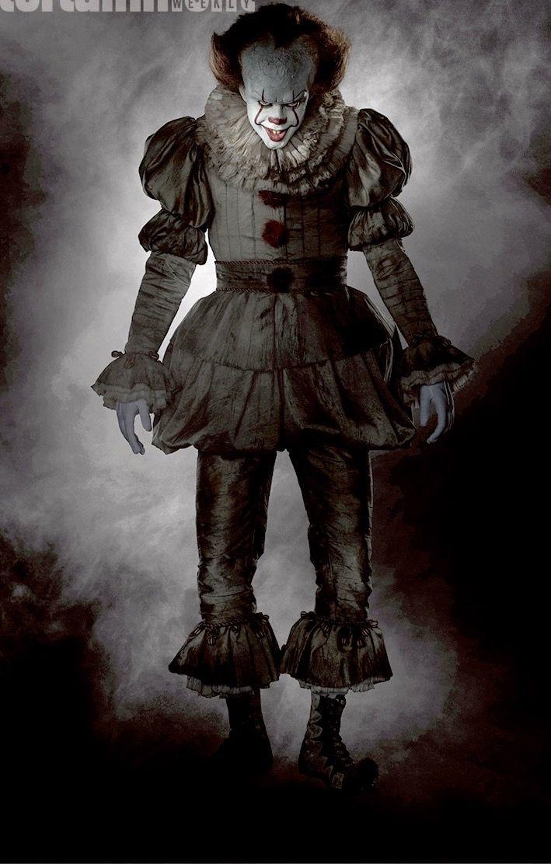 Pennywise It Eso Stephen King Payasos aterradores