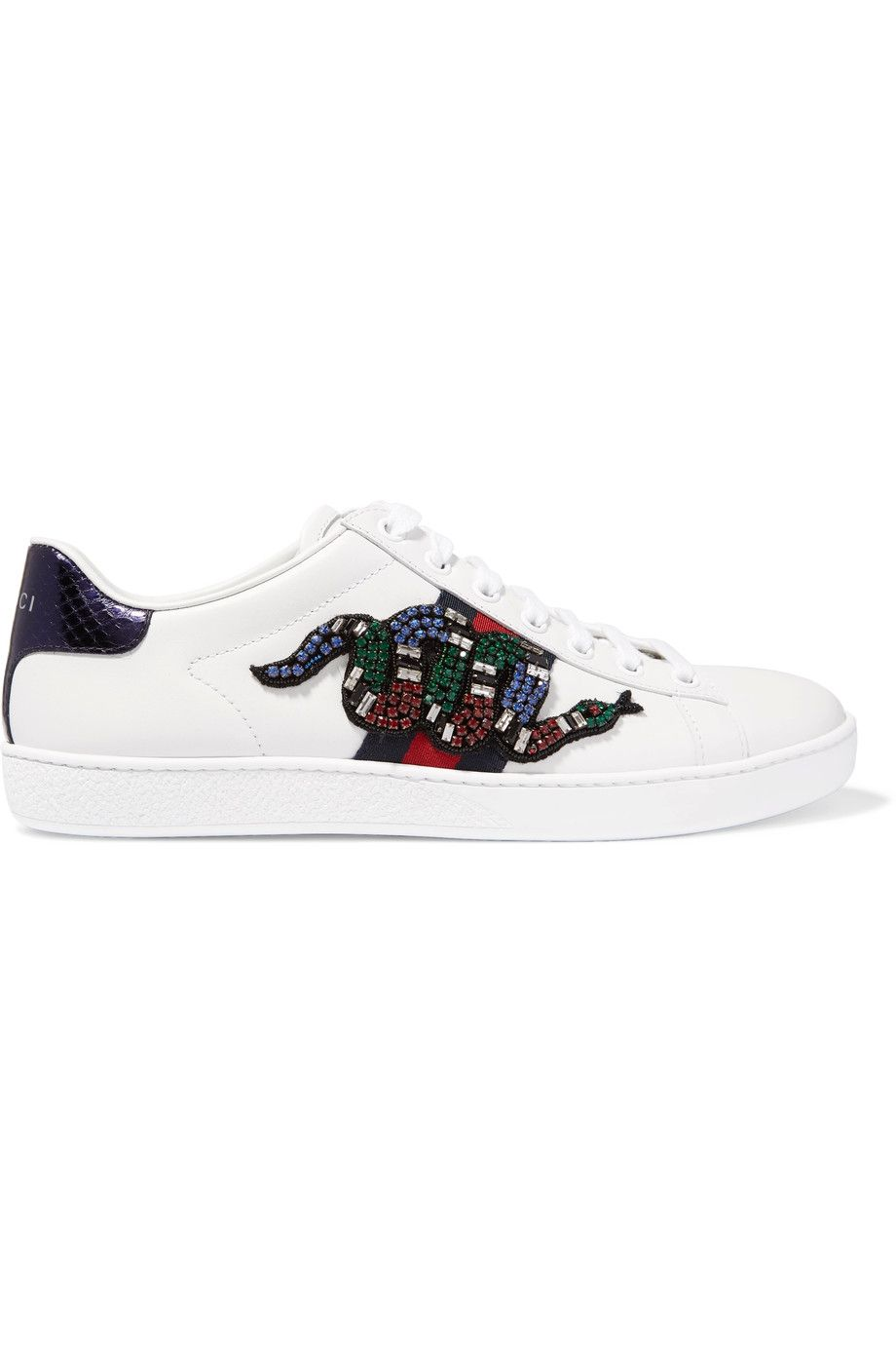 Sneakers, Leather sneakers, Gucci
