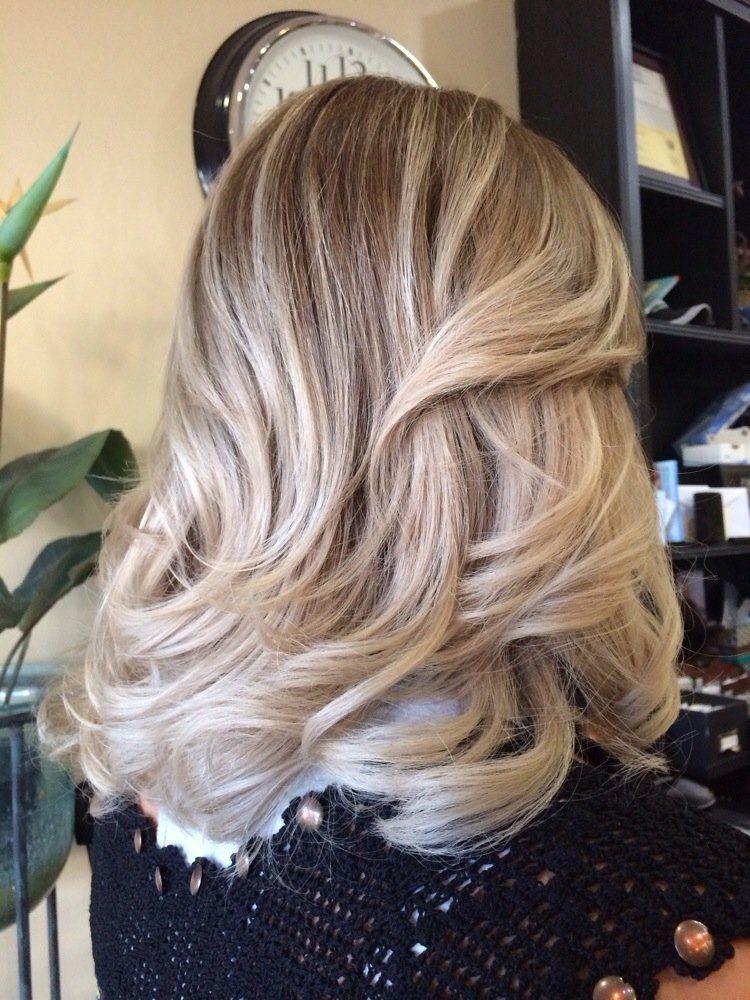 Soft Ash Blonde Yelp Ash Blonde Balayage Hair Blonde