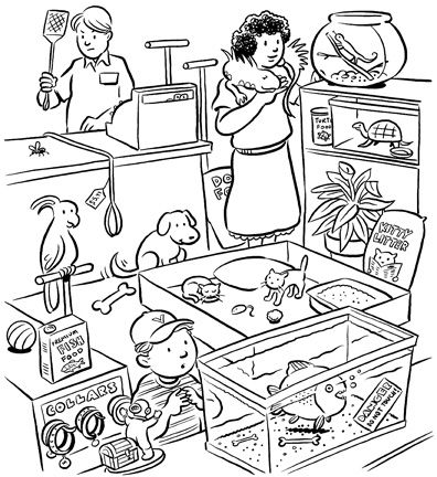 Coloring Pages Pet Store - Workberdubeat Coloring
