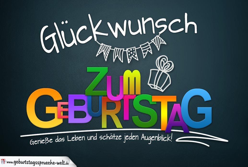 Spruchkarte Zum Geburtstag Mit Schonem Spruch Zum Nachdenken