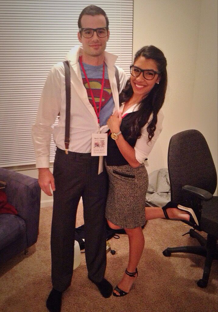 Couples Costume Superman And Lois Lane   Holidays -8241